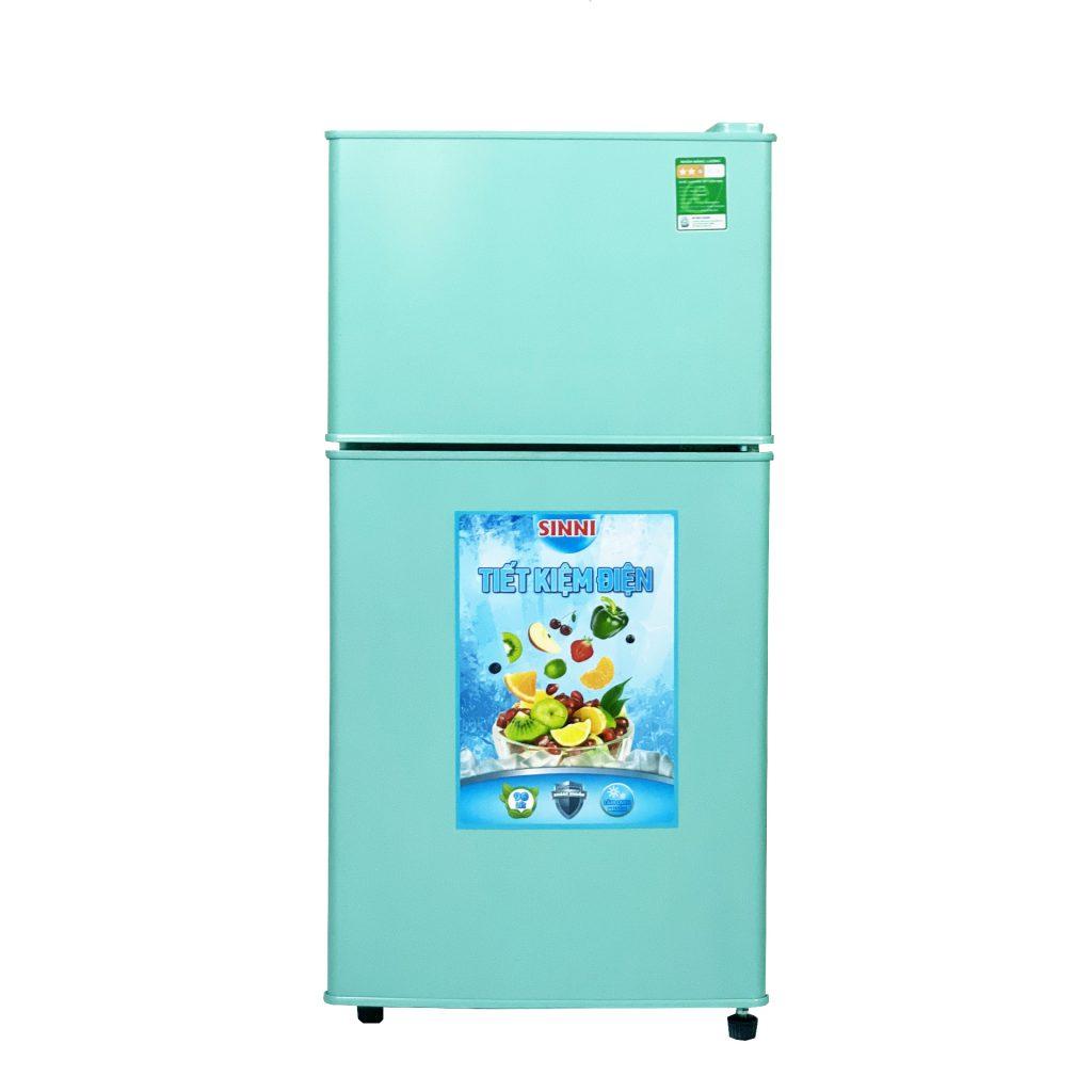 tủ lạnh mini 90 lít 2 canh cua